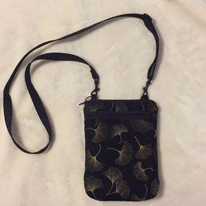 Handbags - Ginkgo leave print bag